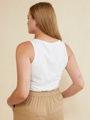 TOP LISO Blanco Optico image number null