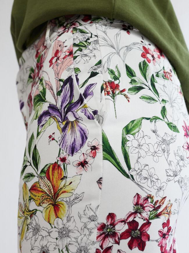 FALDA ESTAMPADO FLORAL Multicolor