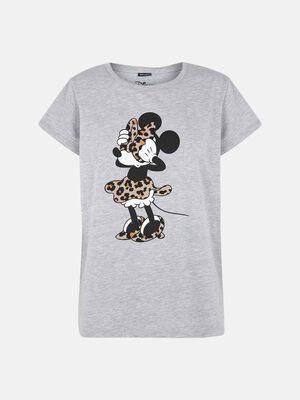 Camiseta manga corta vigore Minnie Mouse Gris image number null