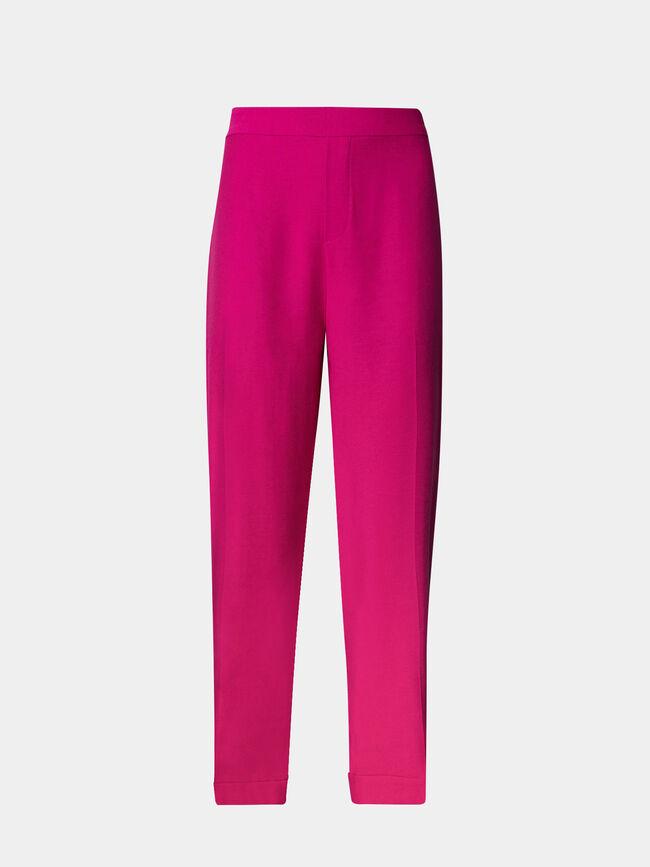 Pantalon goma cinturilla Fucsia