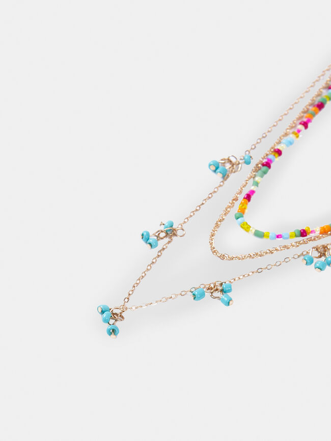 Pack collares Multicolor