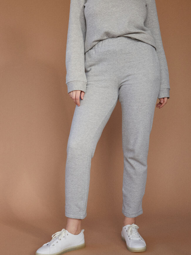 pantalón chandal basico gris vigore med image number null
