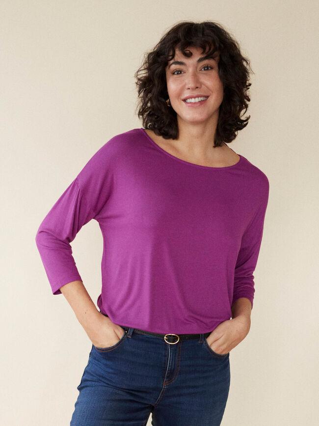 camiseta patente Malva Claro image number null