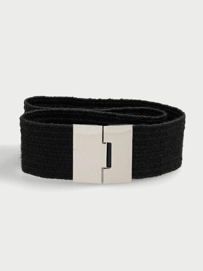 Cinturón elástico Negro image number null