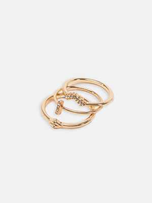 Pack de anillos Oro image number null