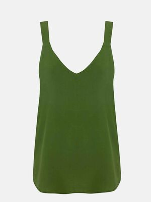 TOP LISO Washed Kaki image number null