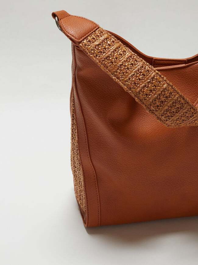 Bolso shopper Camel image number null