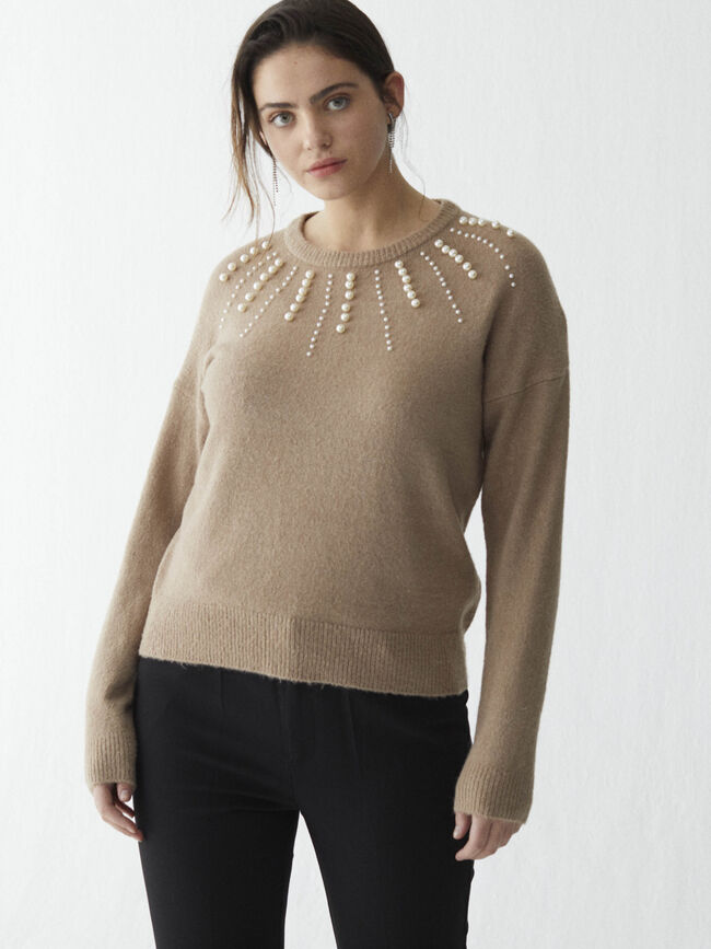 Jersey perlas Camel image number null
