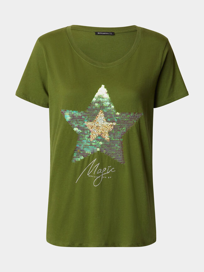 CAMISETA MAGIC verde cypress image number null
