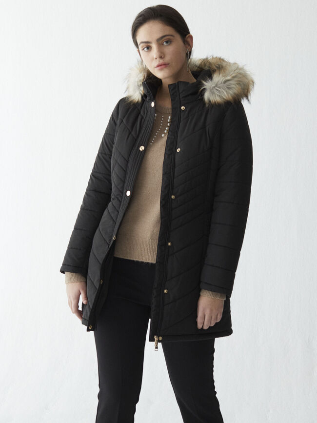 LONG PUFFER Negro image number null