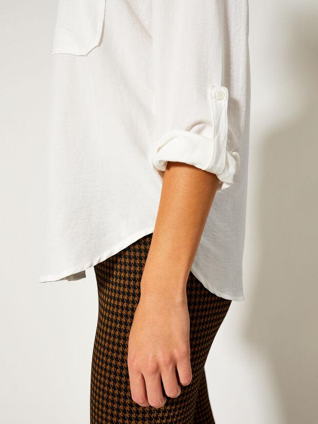 Camisa con bolsillos Blanco Optico