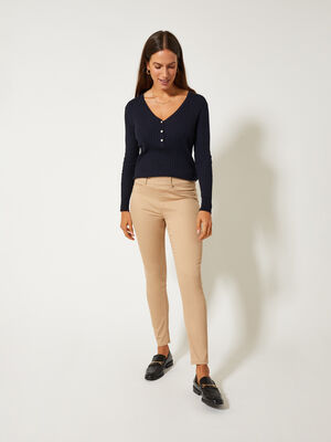 VAQUERO JEGGING Camel image number null