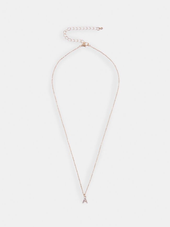 COLLAR INICIAL Champagne