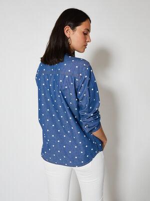Camisa topos Azul Medio image number null