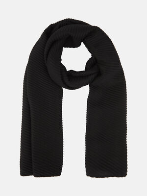 Fular basico plisado Negro image number null